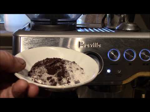 Breville Barista Express - Grinder Cleaning w/ Rice