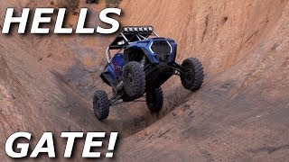 ROAD TRIP TO MOAB! Then we rip HELLS GATE! RZR X3 RS1 PRO XP