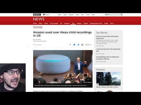 Amazon Is Getting Sued Because Alexa Caught Recording Children