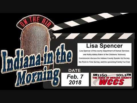 Indiana in the Morning Interview: Lisa Spencer and Kathy Abbey Baker  (2-7-18)