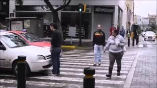 Video Car Stops Over the Crosswalk, Pedestrian Takes Action, In Russia, he'd already be run over 2 download MP3, 3GP, MP4, WEBM, AVI, FLV November 2017