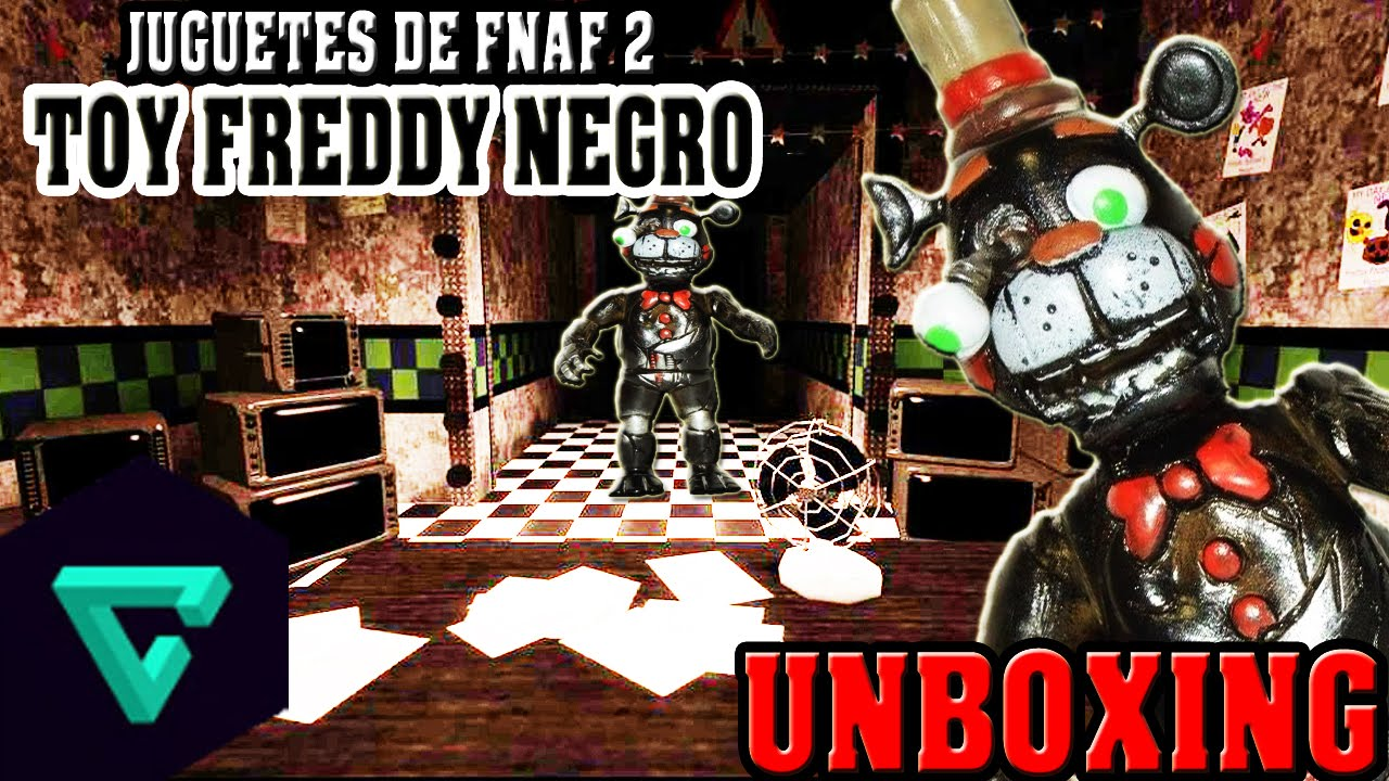 Juguetes de five nights at freddy s 2 old toy freddy color negro