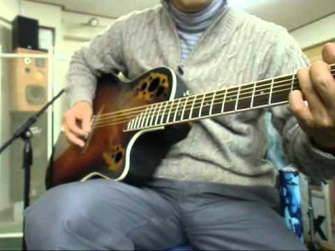 Canon in C on acoustic guitar