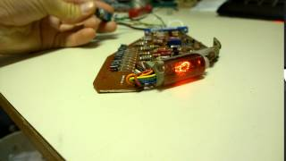 Testing a third defective Anita MK12 calculator register card
