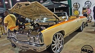 """Classic Weeekend 2k14 : 73 Donk with Procharged LS3 on 26"""" Wheels"""