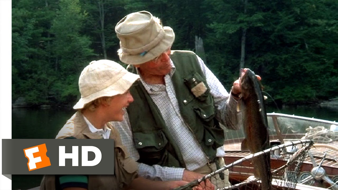 On Golden Pond 6 10 Movie Clip A Rainbow Trout 1981 Hd Youtube