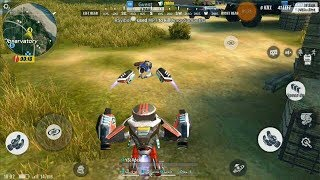 Support Droid | How to Use | funny Moment | Rules Of Survival |New Update|