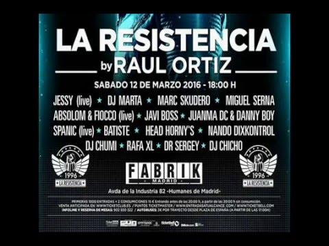 FABRIK. LA RESISTENCIA 12/3/2016. SESION DJ CHICHO