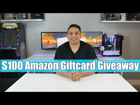 $100 Amazon Giftcard Giveaway - Channel Updates And Upcoming Tournament.