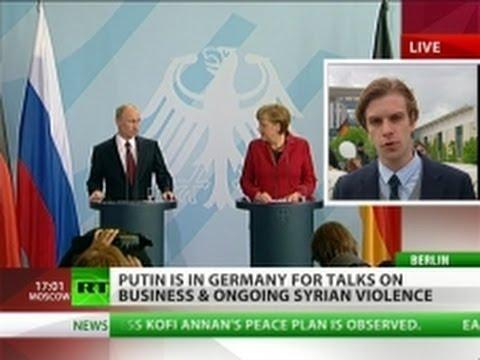 Putin+Merkel: No to Syrian invasion & Euro collapse