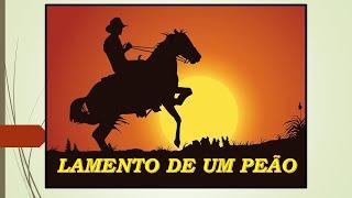 LAMENTO DE UM PEÃO****GOIANO E PARANAENSE - Composição -Valdemar Reis