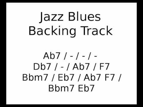 Jazz Blues backing track in Ab