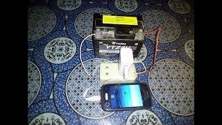 cara merubah charger hp 220 volt ac menjadi 12 volt dc