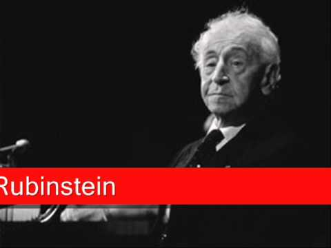 Arthur Rubinstein: Beethoven, 'Moonlight Sonata' 1st Movement