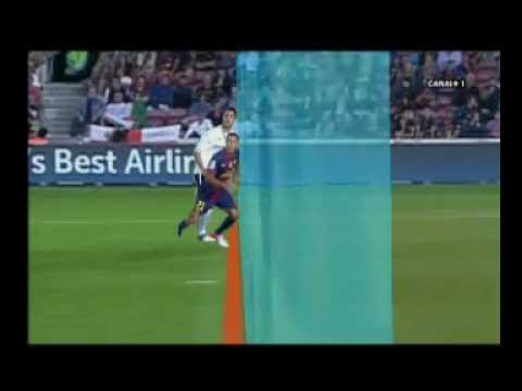 Valencia goal was legal against barcelona 02/09/2012