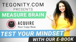Tegonity.Com Measure Brain E-Book | How to Test your Brain | Check Brain Power 📚