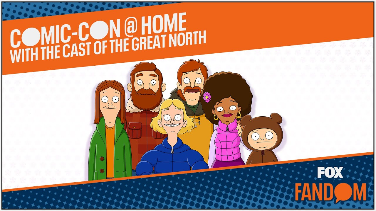 Comic-Con 2021 @ Home: Cast Chat | THE GREAT NORTH