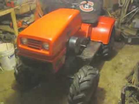 NEW 1977 ARIENS S16H GARDEN TRACTOR WITH AGS YouTube
