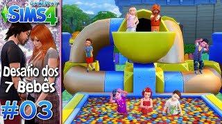 CONHEÇAM OS 7 BEBÊS - Desafio dos 7 Bebês #3 -The Sims 4