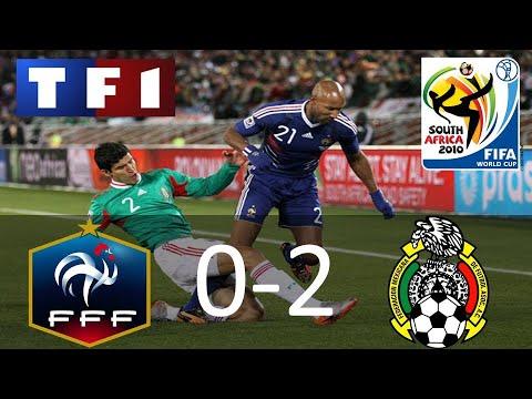 France 0-2 Mexique | Coupe du Monde 2010 | TF1/FR