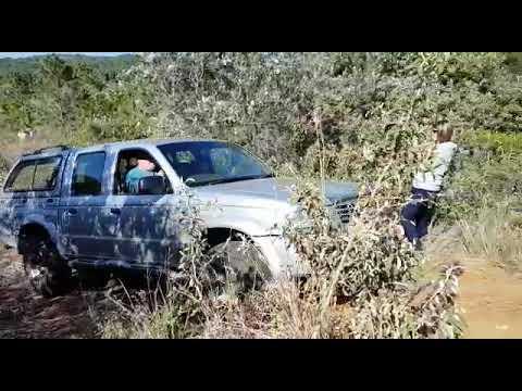 """Mazda Drifter Climbing """"pumpkin Head"""" Sandy Rutted Hill"""
