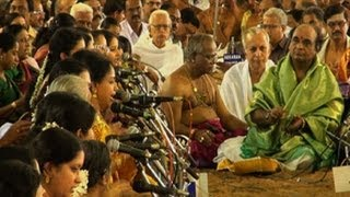 Pancharatna kritis, Dudukugala in Gowla Raaga Tyagaraja Music festival, Thajavur