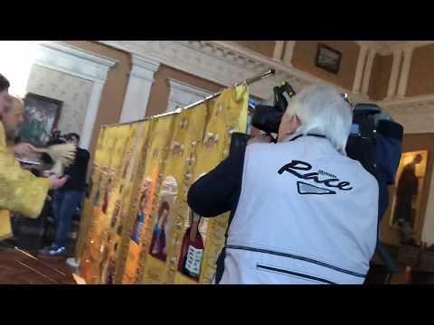 Освящение иконостаса для АПЛ «Орёл»