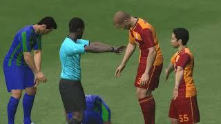 Galatasaray vs Ç.Rizespor - Pes 2017 Türkçe Spiker