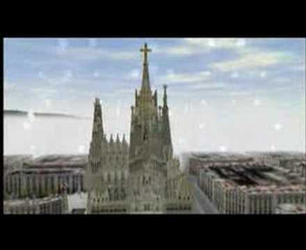 the sagrada familia finished in 3d youtube. Black Bedroom Furniture Sets. Home Design Ideas