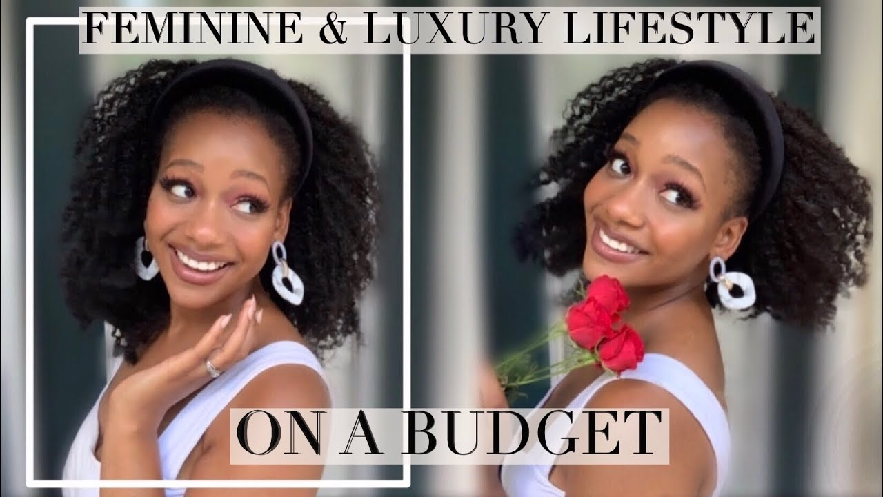 FEMININE & LUXURY Lifestyle on a BUDGET 🎀 Look Expensive! Black Femininity | Black Homemaker