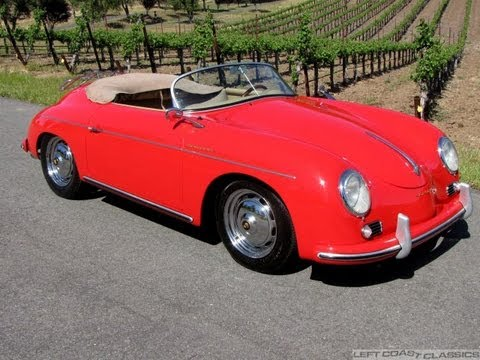 1956 porsche speedster replica for sale in sonoma ca youtube. Black Bedroom Furniture Sets. Home Design Ideas