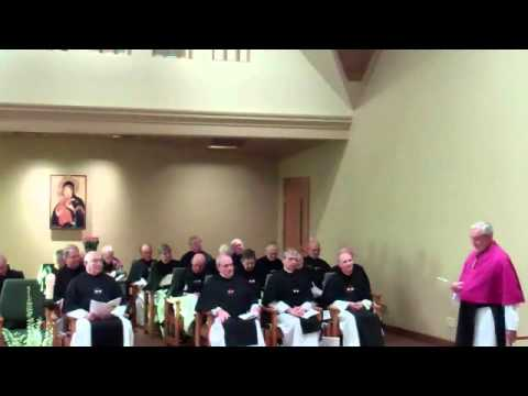 Crosier Prior Provincial Installation