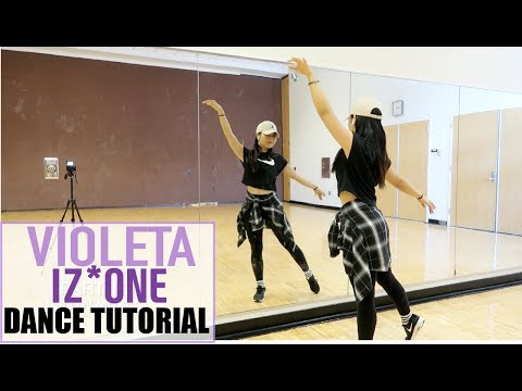 IZ*ONE (아이즈원) - 비올레타 (Violeta) - Lisa Rhee Dance Tutorial