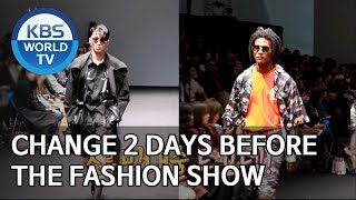 Things change 2 days before the fashion show Boss in the MirrorENG2019.11.24