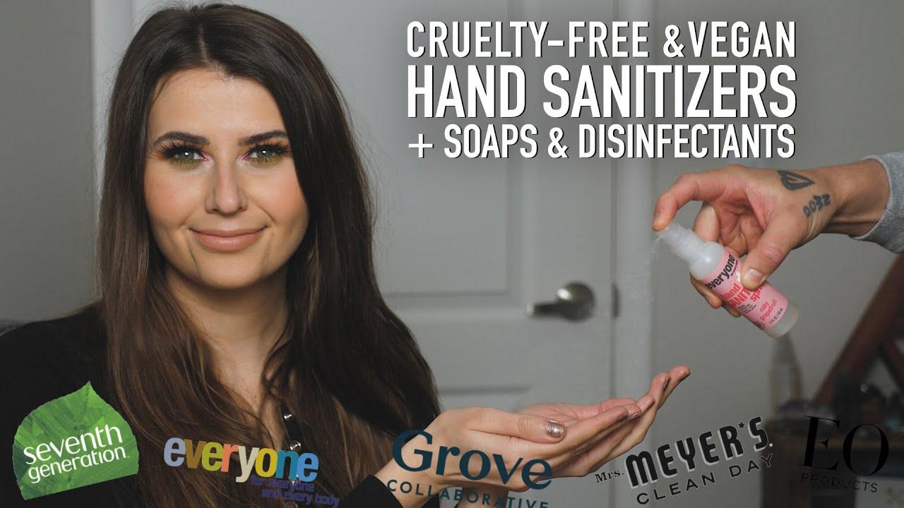 Cruelty Free Hand Sanitizers Disinfectants Vegan Too