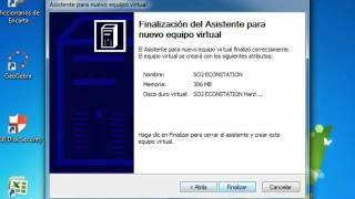 INSTALACIÓN DEL OS/2. EN UNA MAQUINA VIRTUAL VIRTUAL  PC  2007