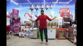 soda machine Price Sugar Cane Machine Price  Softy Ice Cream Machine Popcorn Machine