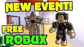 🔴 FREE ROBUX GIVEAWAY!!! | NEW STRANGER THINGS EVENT!!  | FREE ELEVEN OUTFIT!  | Roblox Jailbreak
