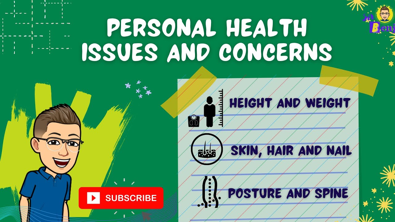 Health 6 Quarter 1 Personal Health Issues And Concerns Part 2 Youtube