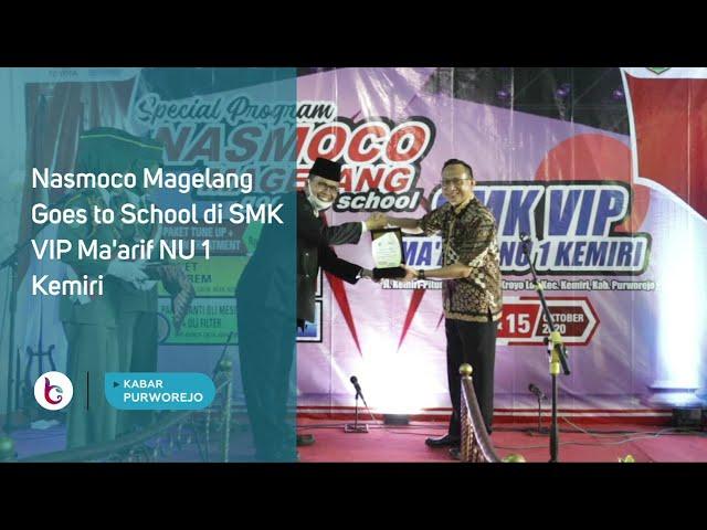 Nasmoco Magelang Goes to School di SMK VIP Ma'arif NU 1 Kemiri