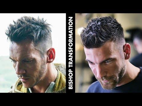 Men Short Messy Hair Transformation | Vikings Series Inspired