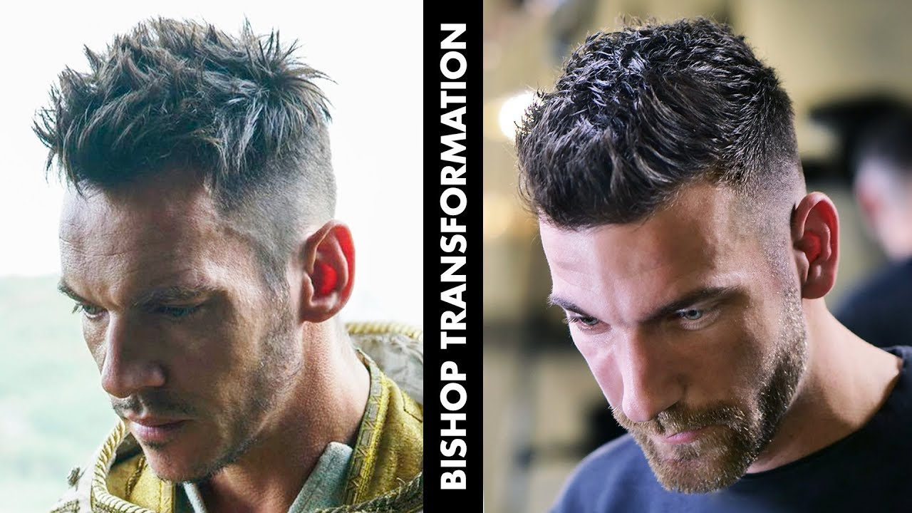 Men Short Messy Hair Transformation | Vikings Series Inspired