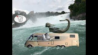 Reisebericht Urlaub 2019 #7 Rheinfall & Camping Schaffhausen-Schweiz