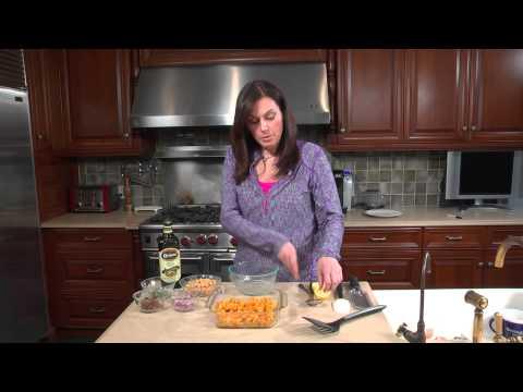 Chick Pea & Pumpkin Salad: Healthy Food for Teens