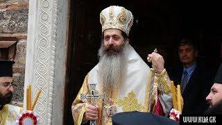 Епископ Симеон провел службу в русской церкви в Афинах