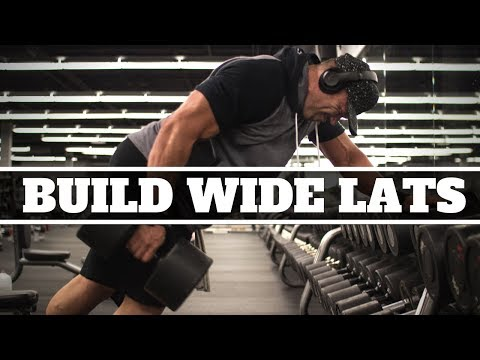 How To Build WIDE LATS With The One Arm Dumbbell Row