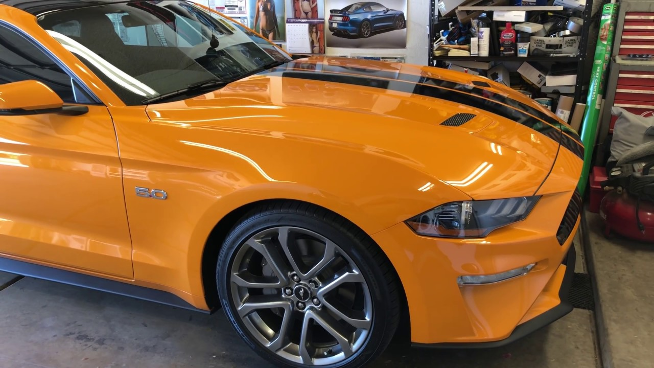 Ford Mustang Orange Fury