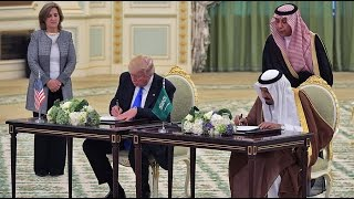 Keys to the Kingdom  Trump visits Saudi Arabia first, signs 0bn deal