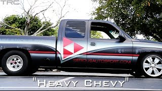 Turbo Chevy Silverado battles modified R35 GTR