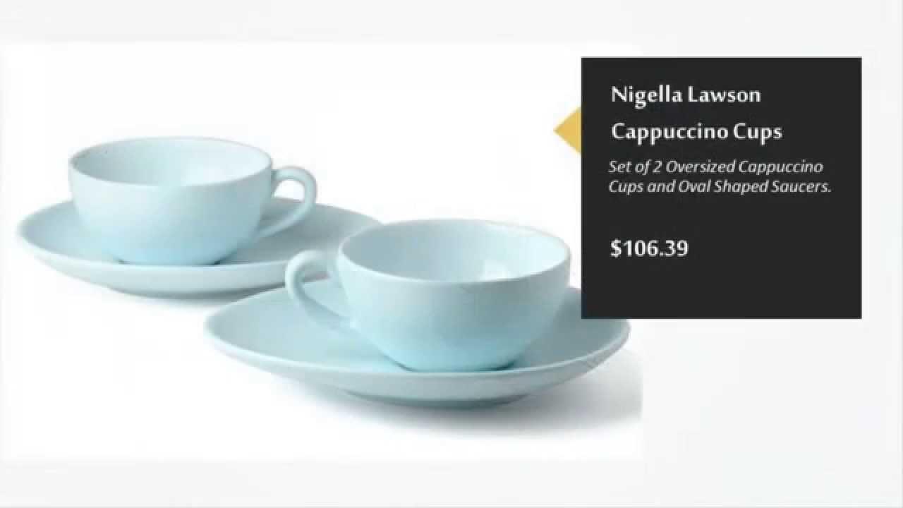 Nigella Lawson Living Kitchen Products - YouTube